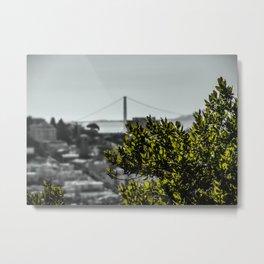 The Bay - City of San Francisco Metal Print