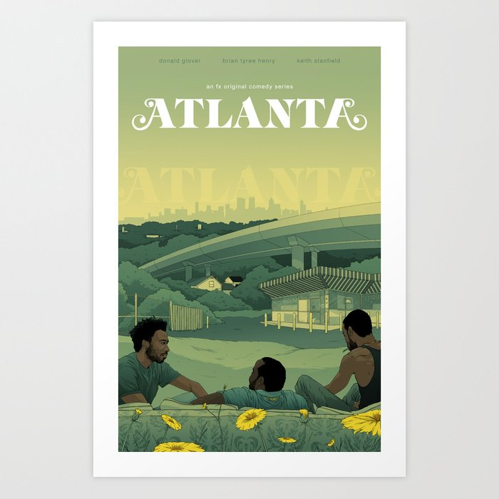 Atlanta Poster Art Print