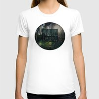 never stop exploring T-shirts featuring Never Stop Exploring II by Leah Flores