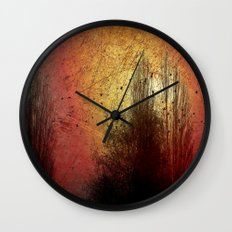 Last sunny day Wall Clock