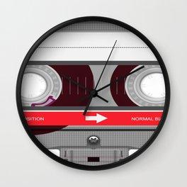 K7 cassette 6 bis Wall Clock