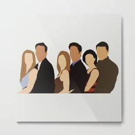 Friends tv show Metal Print