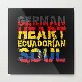 Ecuador Gift Metal Print