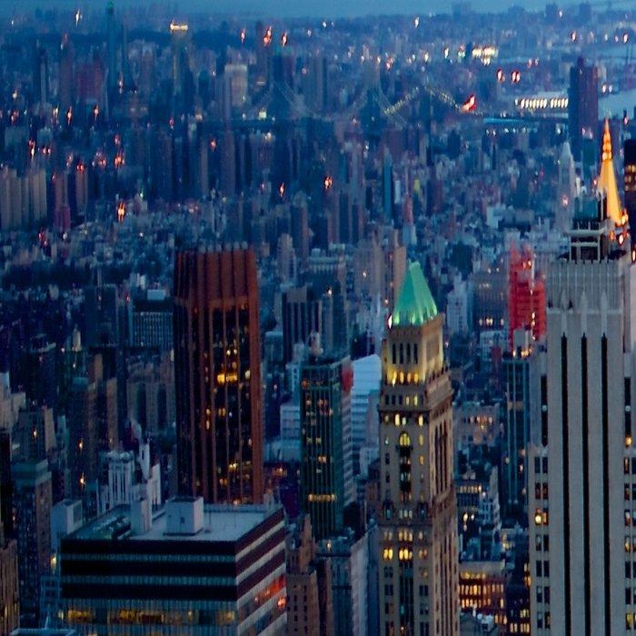 New York City Dusk Leggings