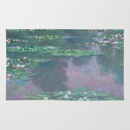 Water Lilies Monet 1905 Rug
