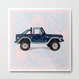 Bronco Metal Print