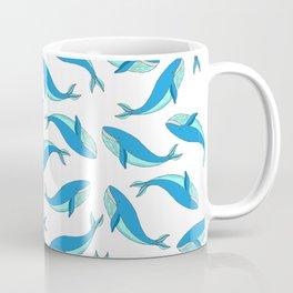 The Blue Whale Coffee Mug