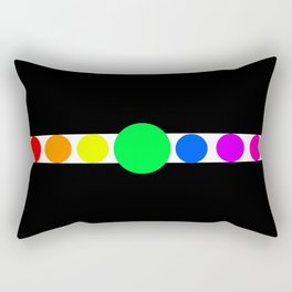 the cycles of life Rectangular Pillow