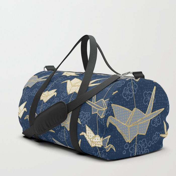 Sadako's Good Luck Cranes Duffle Bag