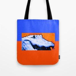 Gator Art - Swampy - Florida - Sharon Cummings Tote Bag