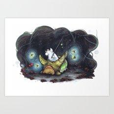 Truffleupagus Art Print