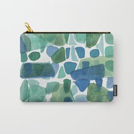 Shapes of pebble stone Carry-All Pouch