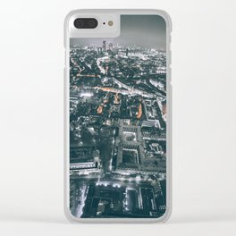 As Far As The Eye Can See Clear iPhone Case