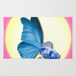 THE BUTTERFLY FISH - Barbara Rug