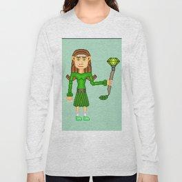 Clara Dolmen Long Sleeve T-shirt