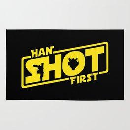 Han Shot First – SW 1977 Fans Rug