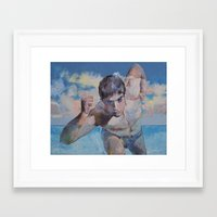 maze runner Framed Art Prints featuring Runner by Michael Creese