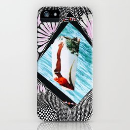 Dive deep into yourself iPhone Case