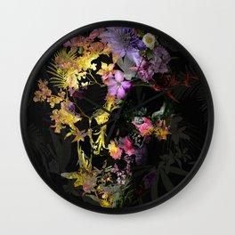 Spring Skull Wall Clock