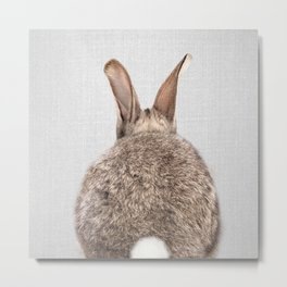 Rabbit Tail - Colorful Metal Print