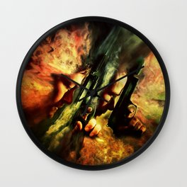 The Sandstorm Saints Wall Clock