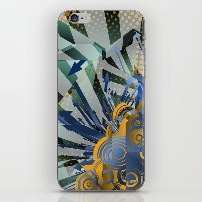 Vector Cubism iPhone Skin