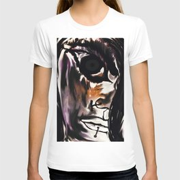 The angry young lady T-shirt