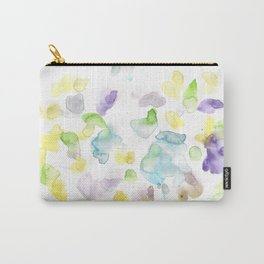 170722 Colour Loving 3 |Modern Watercolor Art | Abstract Watercolors Carry-All Pouch