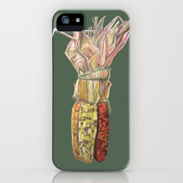 Colorful Corn for Thanksgiving, Autumn, Harvest, and the Holidays iPhone Case