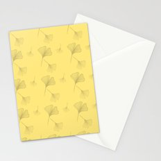 Ginkgo Summer Gold Stationery Cards