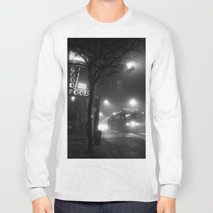 A Streetcar Named Noir Long Sleeve T-shirt