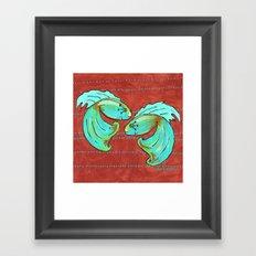 Betas Framed Art Print