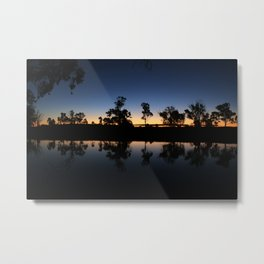 River Sunset. Metal Print