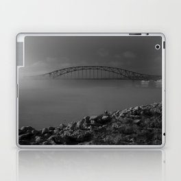 Julian Dubuque Bridge and the Mississippi River Laptop & iPad Skin
