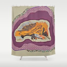 Underated Native Shower Curtain