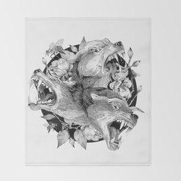 Cerberus Throw Blanket