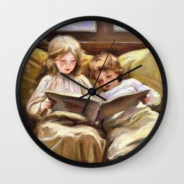 12,000pixel-500dpi - Laura Muntz Lyall - Interesting Story - Digital Remastered Edition Wall Clock