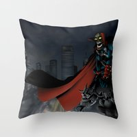 spawn Throw Pillows featuring Spawn by Fuacka