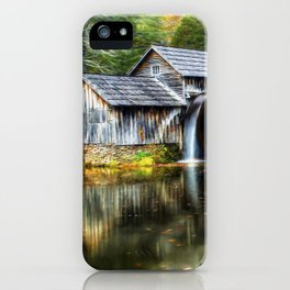 Mabry Mill Autumn iPhone Case