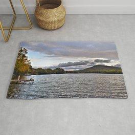 Lake George: Autumn Storm on the Horizon Rug