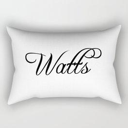 Watts Rectangular Pillow