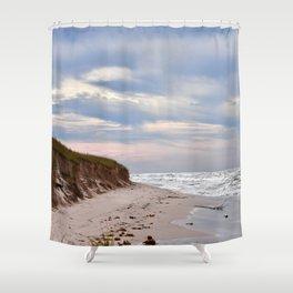 Michigan beach Shower Curtain