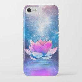 magic lotus flower iPhone Case