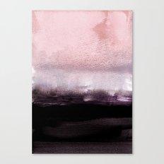 blush over purple Canvas Print