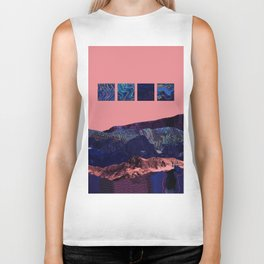 Behind the Mountains Biker Tank