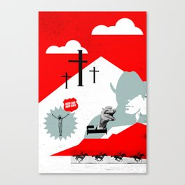 Died for our Sins Canvas Print