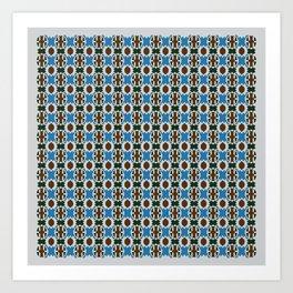 Patta Pattern Art Print
