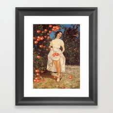 The Orchard Of Me Framed Art Print