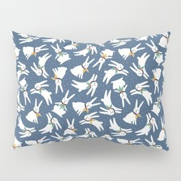 Christmas rabbits Pillow Sham