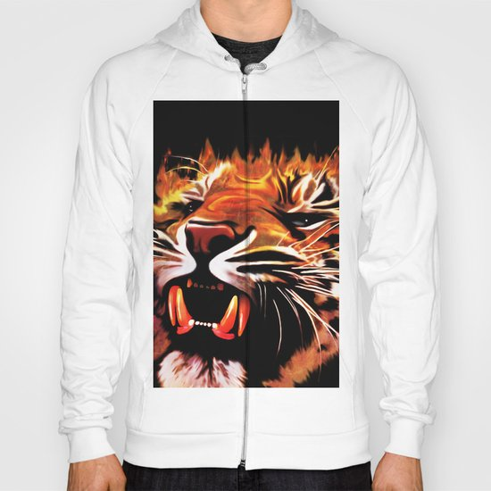 Fire Power Tiger Hoody
